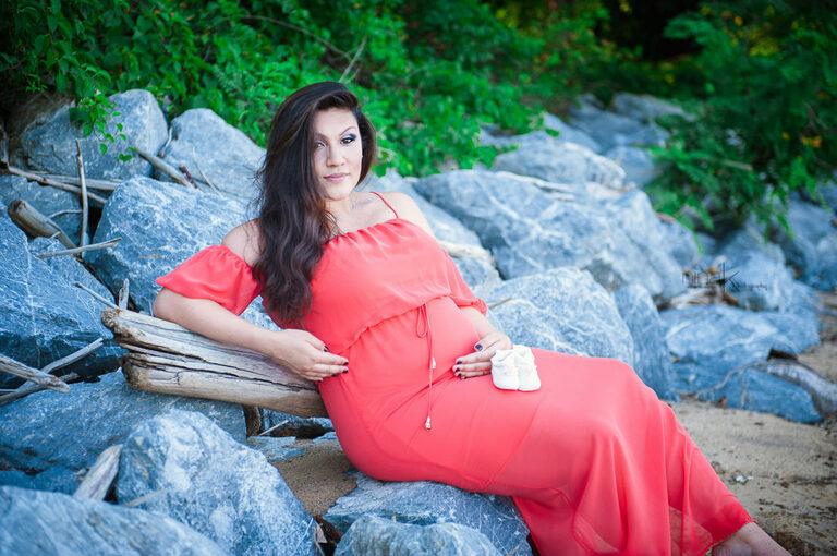 maternity on rocks